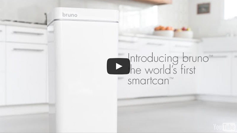 Introducing bruno - the world's first smartcan